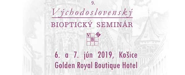 9. Východoslovenský bioptický seminář